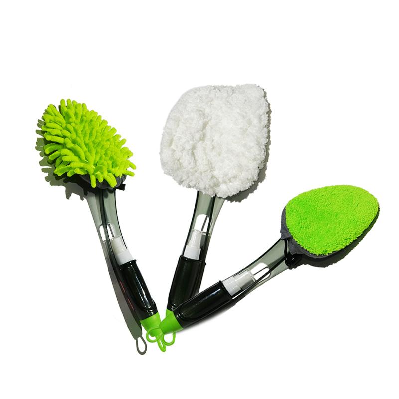QJ-G-S-011 Microfiber Car Interior Air Conditioner Vent Cleaning Tools Car Detailing Cleaner Brush
